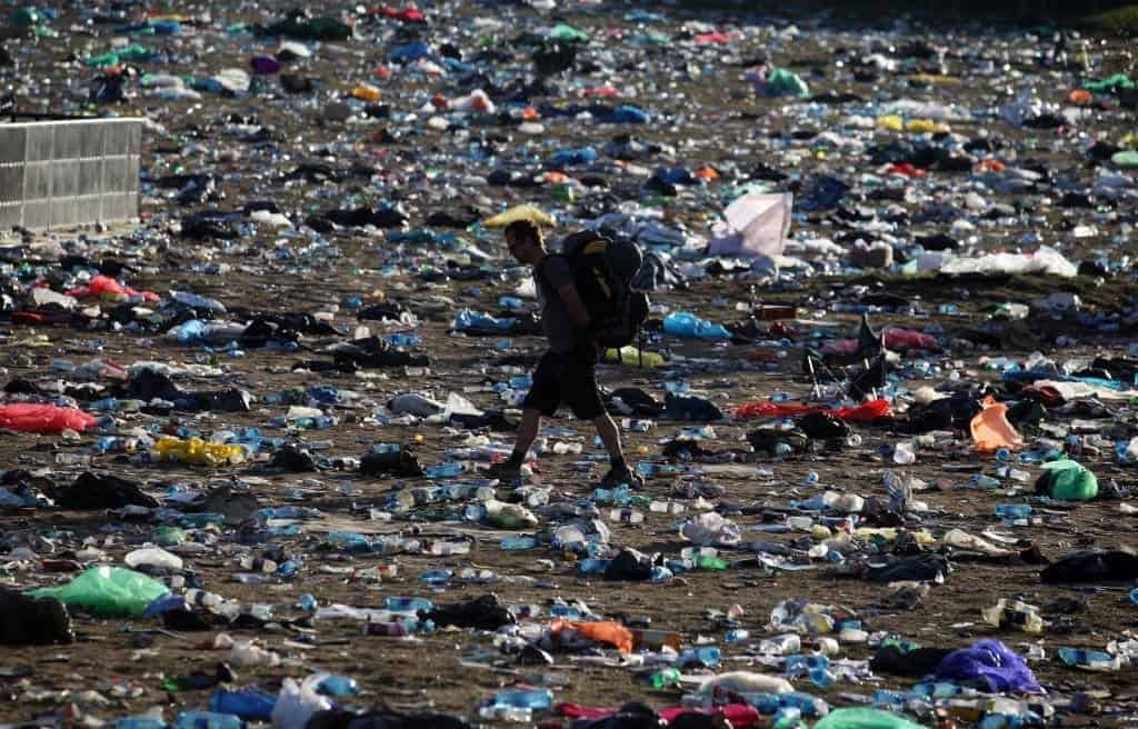music festival plastic environmental impact.