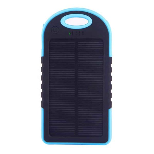 blue solar charger